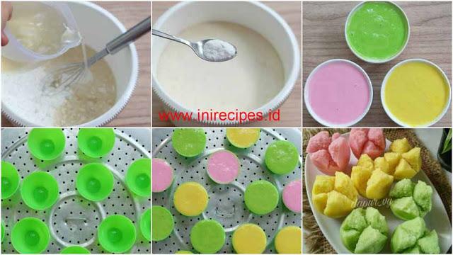 Resep Membuat Kue Mangkok Mekar Apem Tepung Beras Berbagi Inspirasi